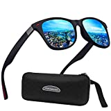 Polarisierte Sonnenbrille Herren Damen Luxus Retro Sonnenbrille...
