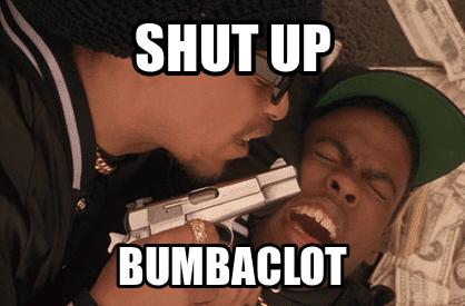 Was bedeutet Bumbaclot?