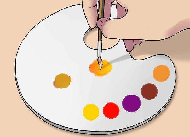 Hautfarbe selber mischen – so gehts