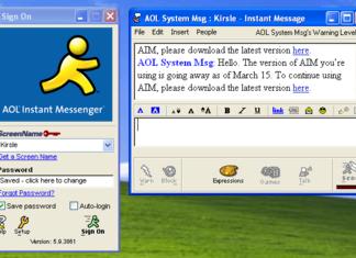 AOL Chat – Gibt es ihn noch zum Chatten