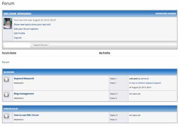 Kostenlose Homepage Mit Forum Erstellen Anbieter