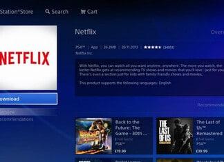 Netflix auf der PS4 schauen