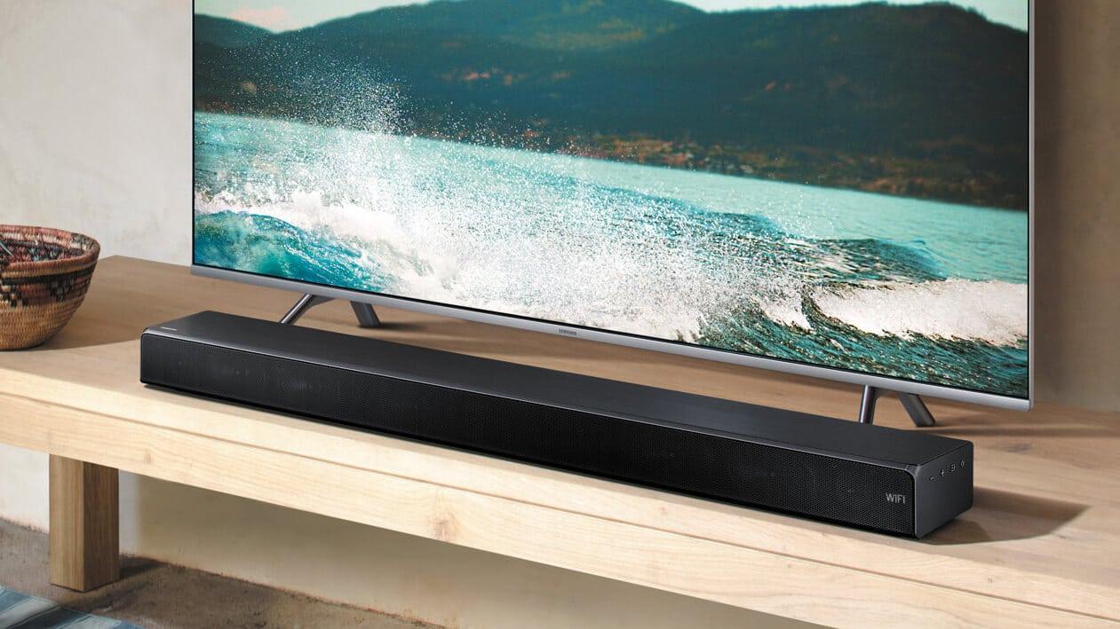 Wie schließt man eine Soundbar an den TV an?