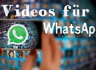 Woher bekommt man lustige Videos für Whatsapp