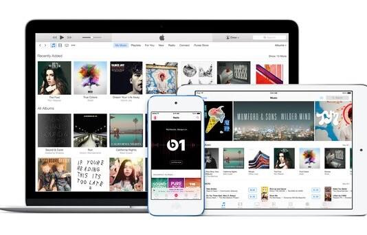 Apple Music mit iTunes auf Windows PC abspielen