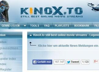 Kinox.to Alternativen zum Filme streamen