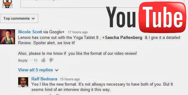 YouTube - Meine erstellten Kommentare anzeigen