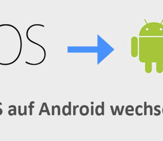 iOS zu Android Smartphone umziehen
