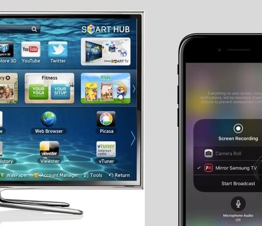 iPhone mit Samsung TV verbinden