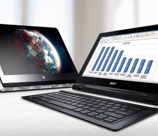 Der Unterschied zwischen Laptop und Notebook