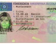 Führerscheinnummer auf dem Führerschein leicht finden