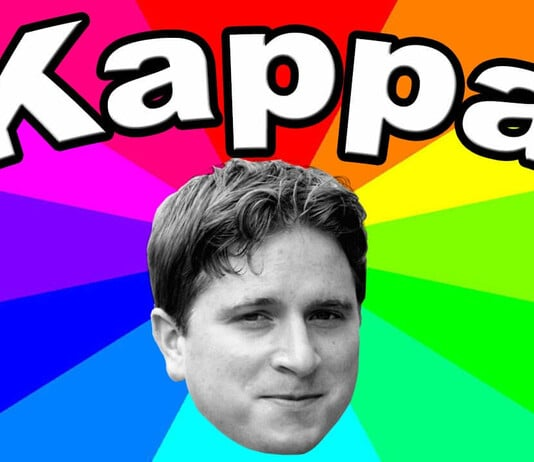 Kappa Smiley auf Twitch