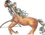 Wie heißen die Fabelwesen Halb Mensch halb Pferd?