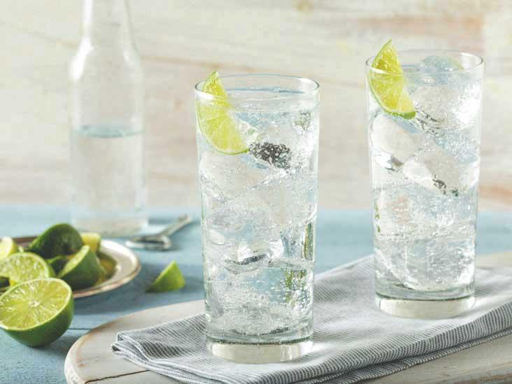 Soda und Mineralwasser - Unterschied
