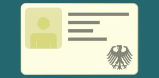 Was bedeutet der rote Punkt auf dem Personalausweis