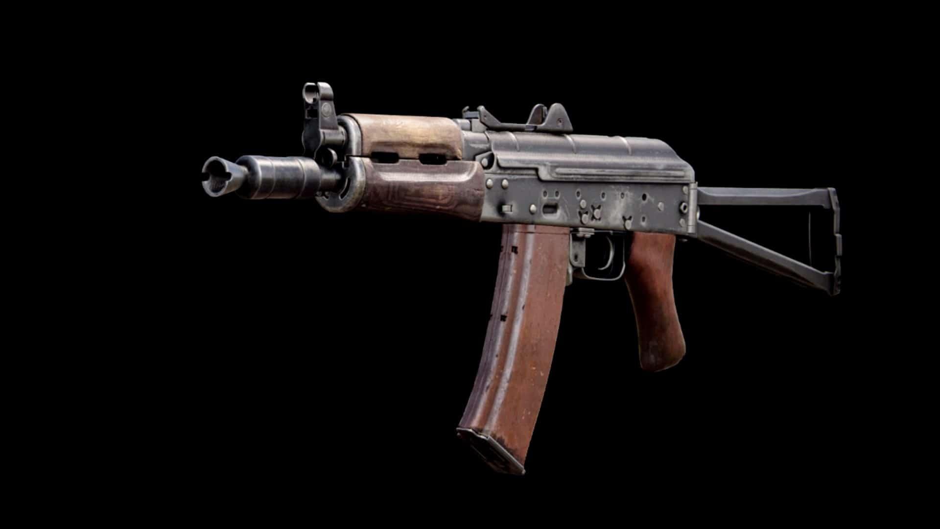 CoD Warzone AK 74u