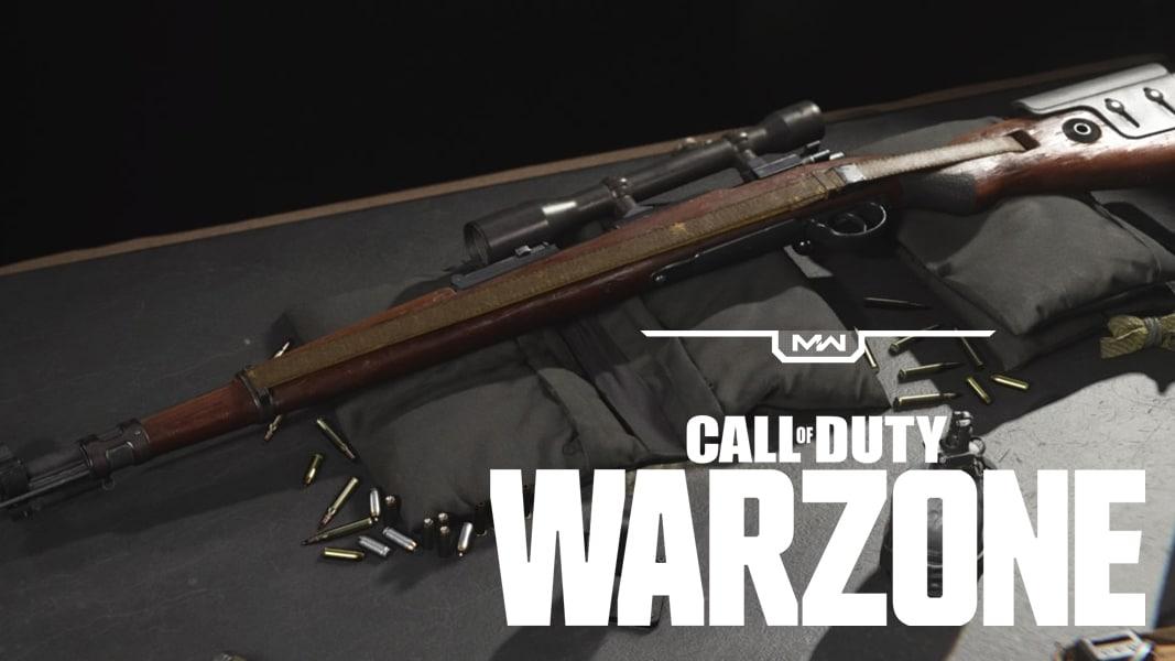 CoD Warzone Kar98k